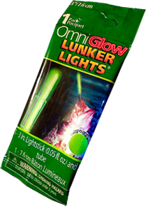 OmniGlow Lunker Lights 3 Inches Green